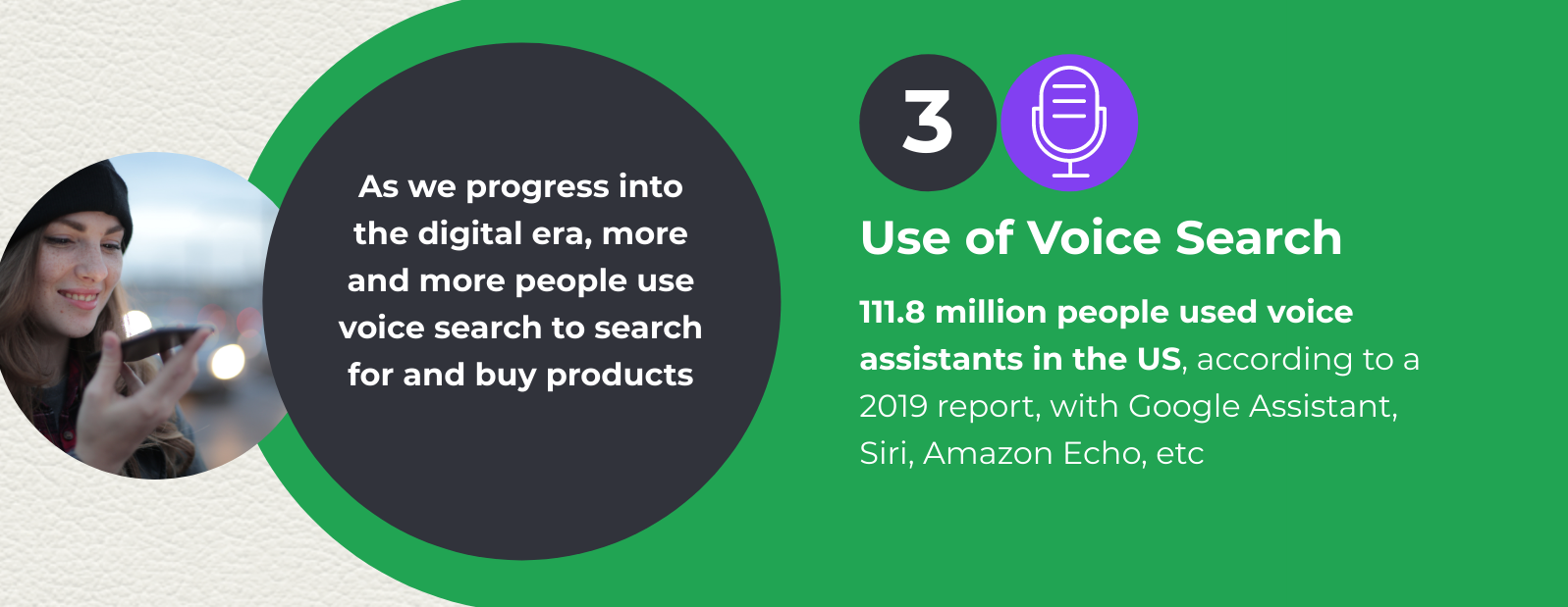 Voice search and ecommerce