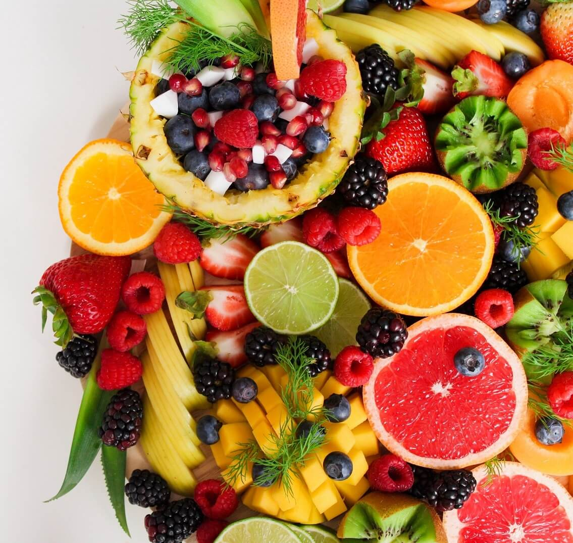 Include Fruits and Vegetables in your list