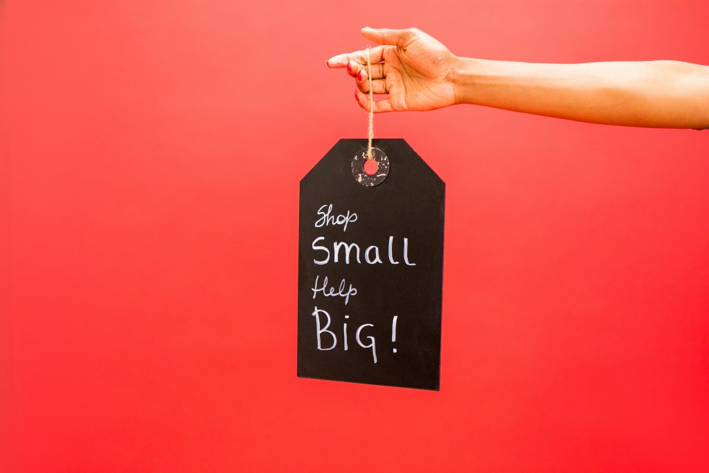 Shop Local, Shop Small and Help Big